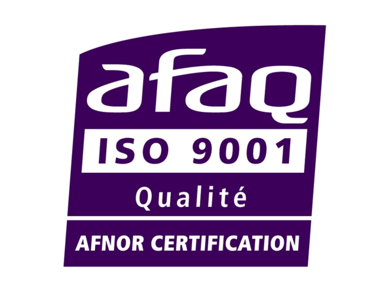 ISO 90001-En cours de certification