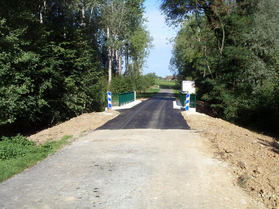 RYE réhabilitation du pont sur le Malan