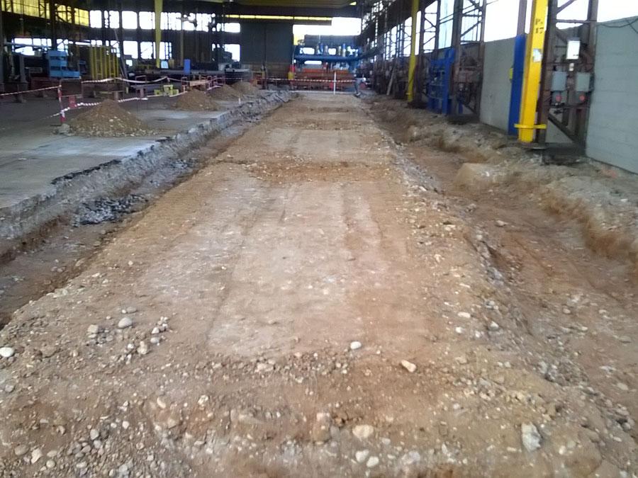 CHARMES Usine MATIERE construction métallique