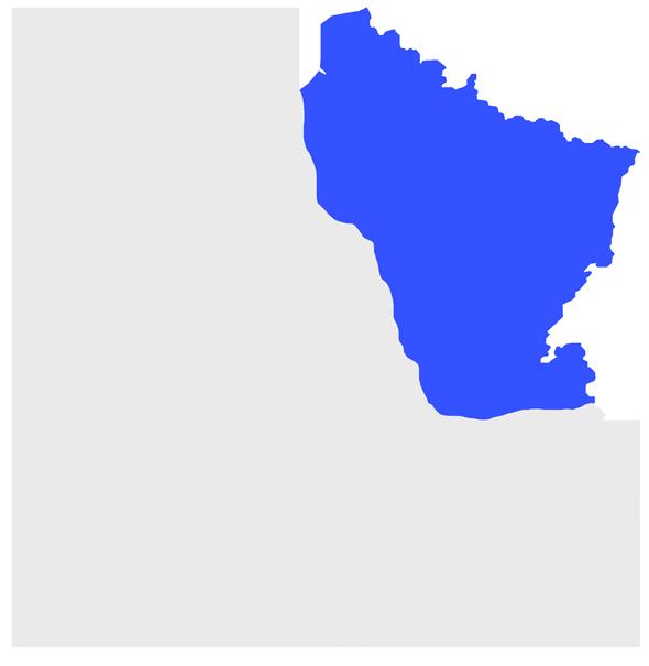 Grand quart Nord-Est de la France