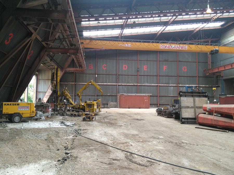 Usine EIFFAGE construction métallique