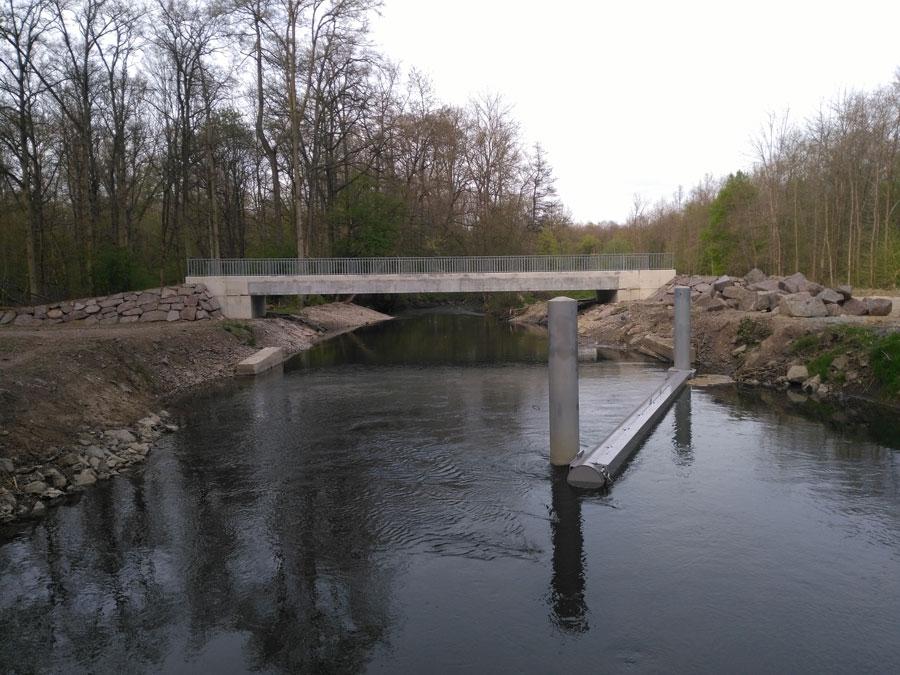 Reconstruction de l'ouvrage de franchissement du cours d'eau de la RIEDLACH